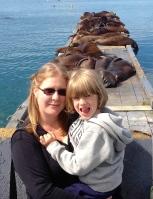Sheyene and Tru on the docks-cropped