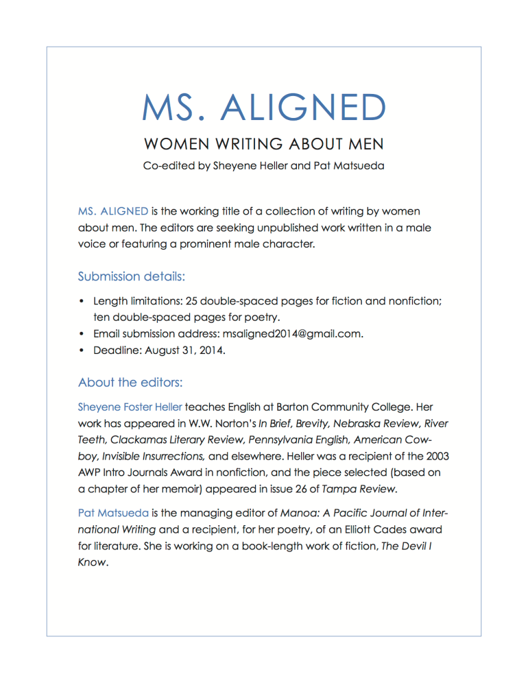 About – Ms  Aligned